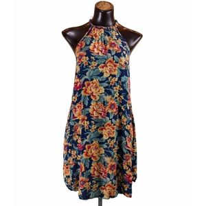 American Eagle Outfitters Floral Swing Dress Med
